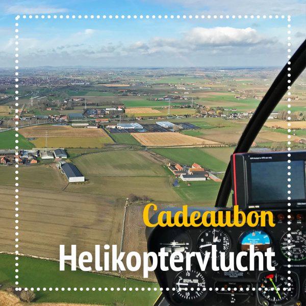 Cadeaubon helikoptervlucht