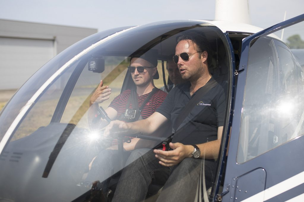Zelf vliegen helikopter