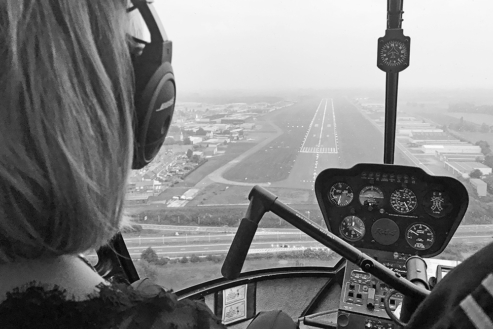 Helikoptervlucht Robinson R44