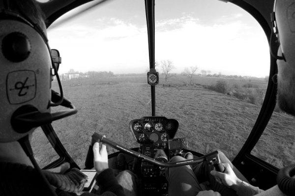 zelf vliegen met een helikopter