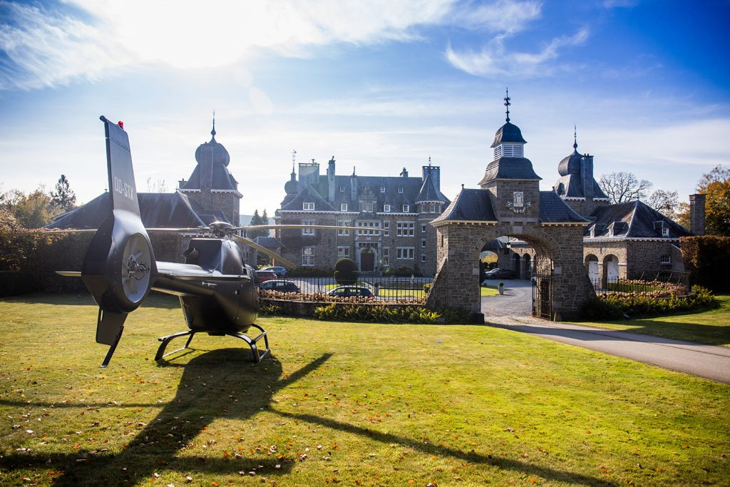 Helicopter charter Spa