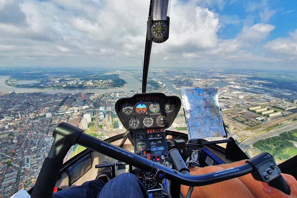 Helikopter PPL(H) opleiding
