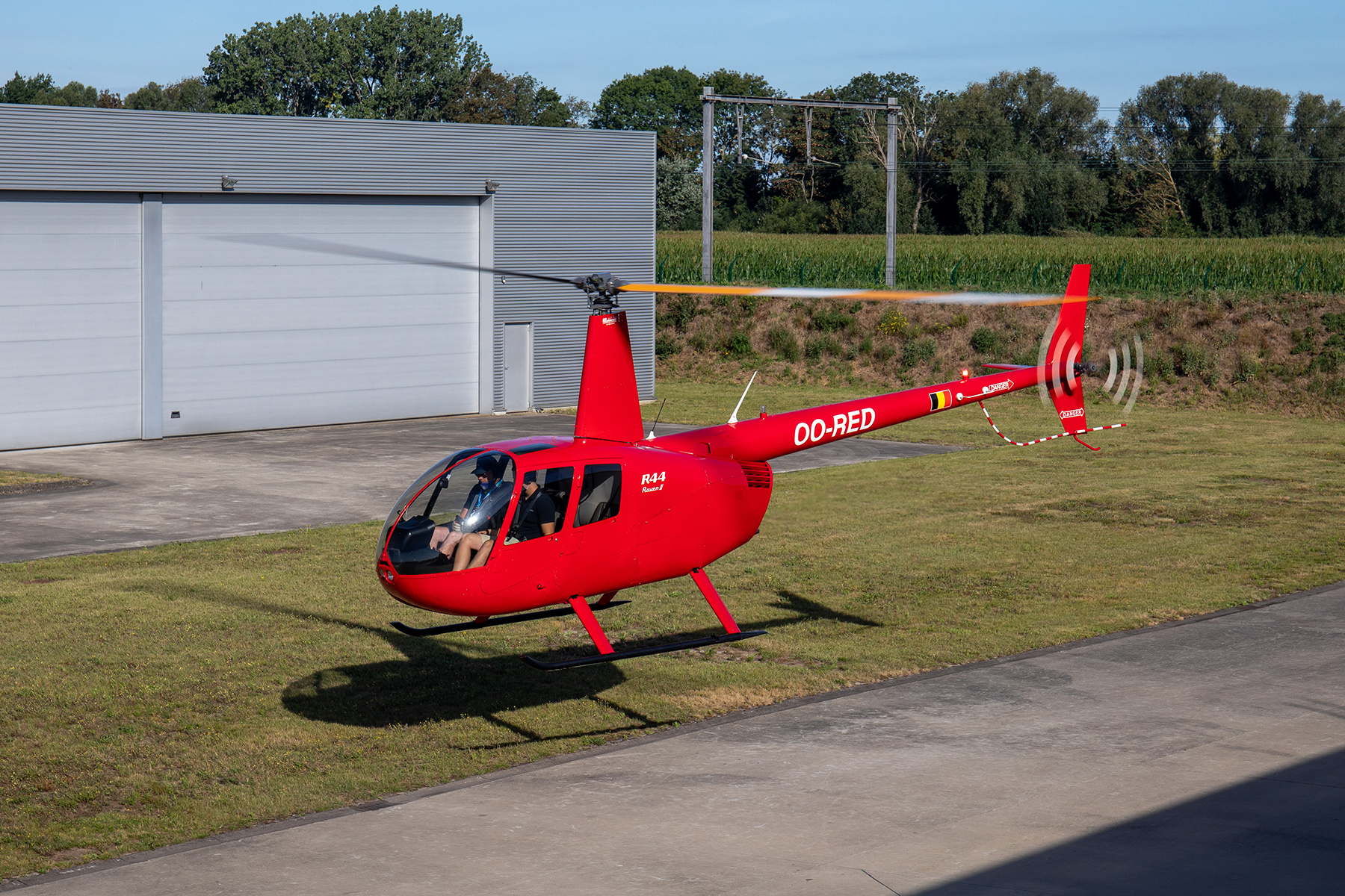 Helicopter Robinson R44